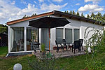 Ferienbungalow mit Kamin in Seedorf am See