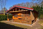 Ferienhaus Blockhaus Hüttenkoppel - Mecklenburgische Seenplatte
