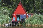 Bootshaus in Bergfeld am Schillersee - Mecklenburgische Seenplatte