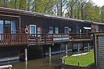 Bootshaus für Angler in Seedorf am Malchiner See - Mecklenburgische Seenplatte