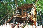 Baumhaus in Dahmen am Malchiner See - Mecklenburgische Seenplatte